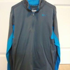 Nike Dri-Fit Men's 1/4 Zip Pullover Long Sleeve